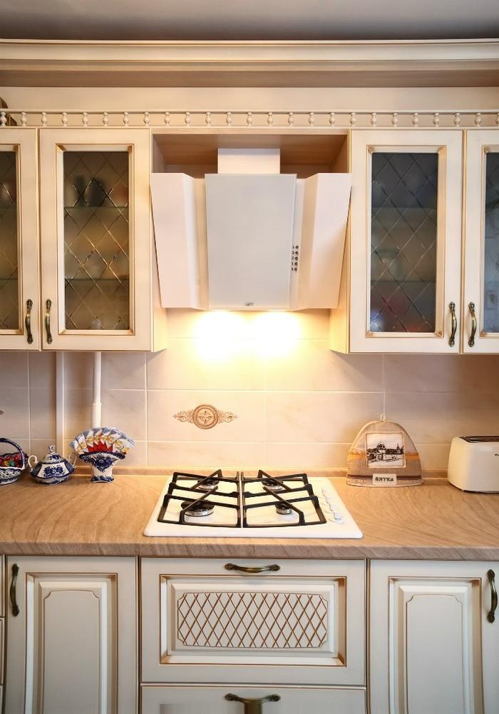 Акриловые кухни-Кухня из пластика «Модель 135»-фото4