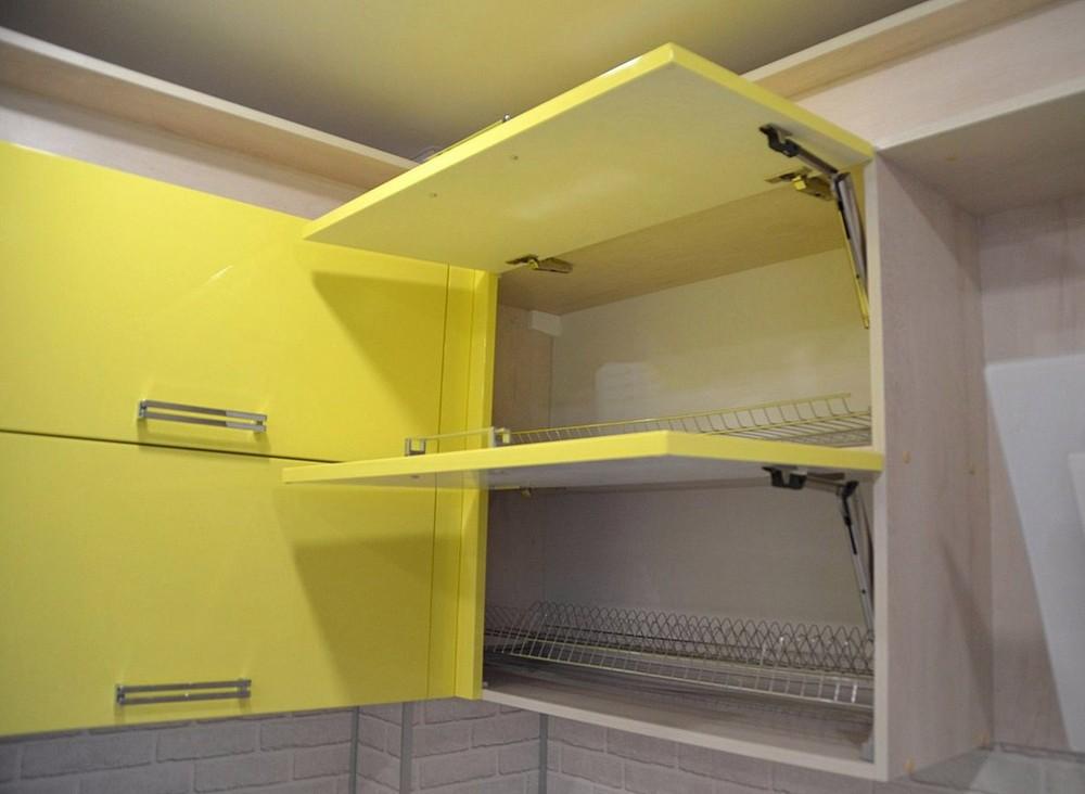 Акриловые кухни-Кухня МДФ в эмали «Модель 167»-фото4
