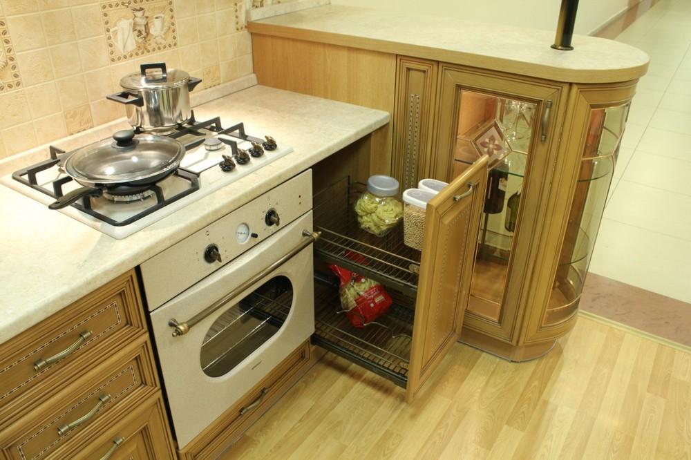 Классические кухни-Кухня из массива «Модель 127»-фото12
