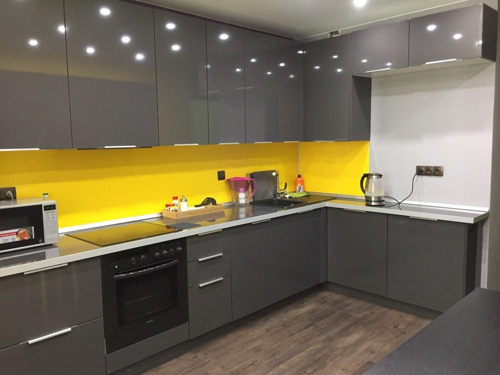 Встроенная кухня-Кухня МДФ в ПВХ «Модель 79»-фото1