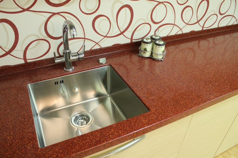Акриловые кухни-Кухня из пластика «Модель 129»-фото5