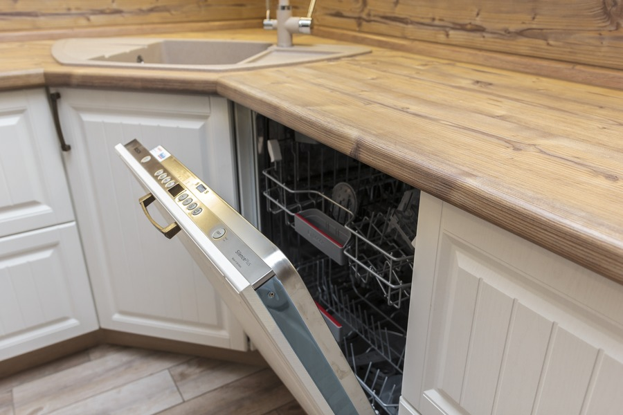 Белый кухонный гарнитур-Кухня МДФ в ПВХ «Модель 10»-фото10