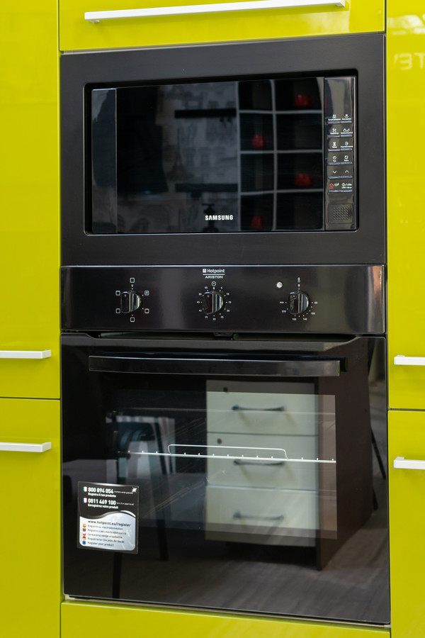 Глянцевые кухни-Кухня МДФ в ПВХ «Модель 53»-фото2