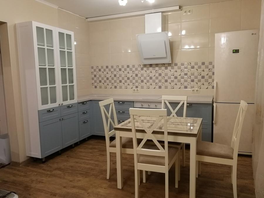 Классические кухни-Кухня МДФ в ПВХ «Модель 28»-фото1