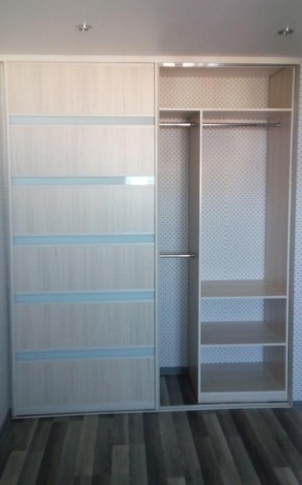 Встроенные шкафы-купе-Шкаф-купе из ЛДСП «Модель 23»-фото2