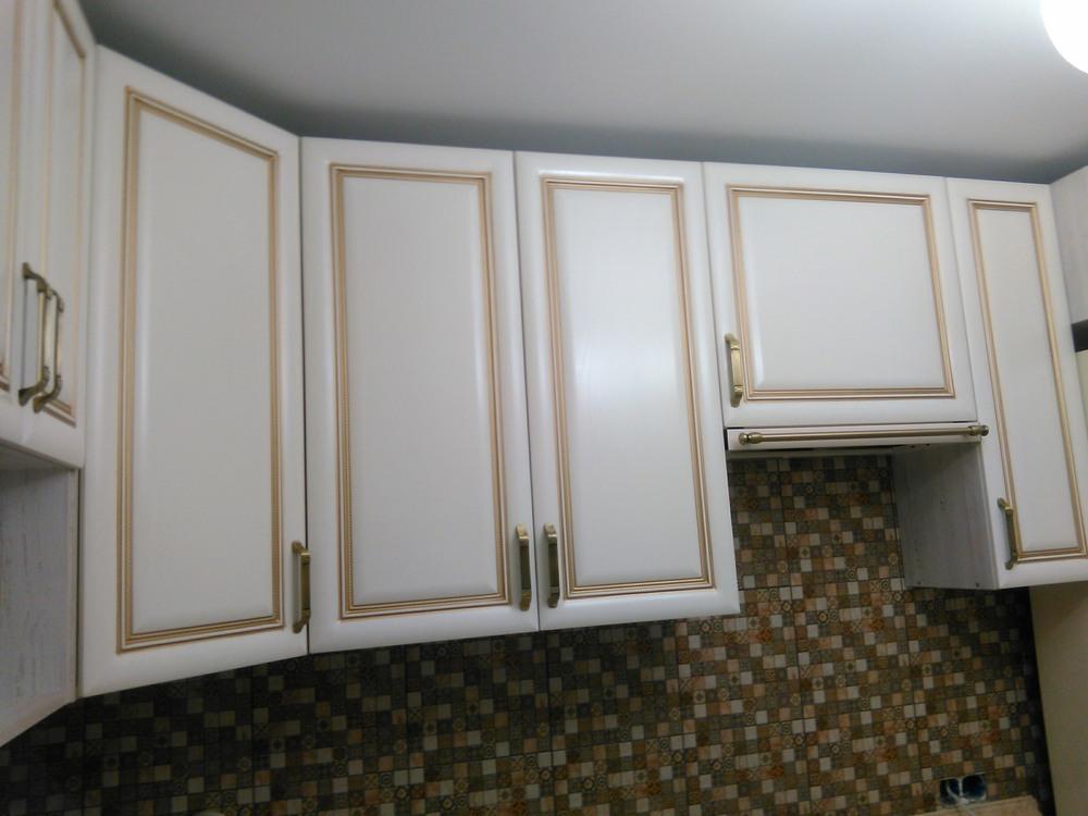 Белый кухонный гарнитур-Кухня МДФ в ПВХ «Модель 340»-фото10