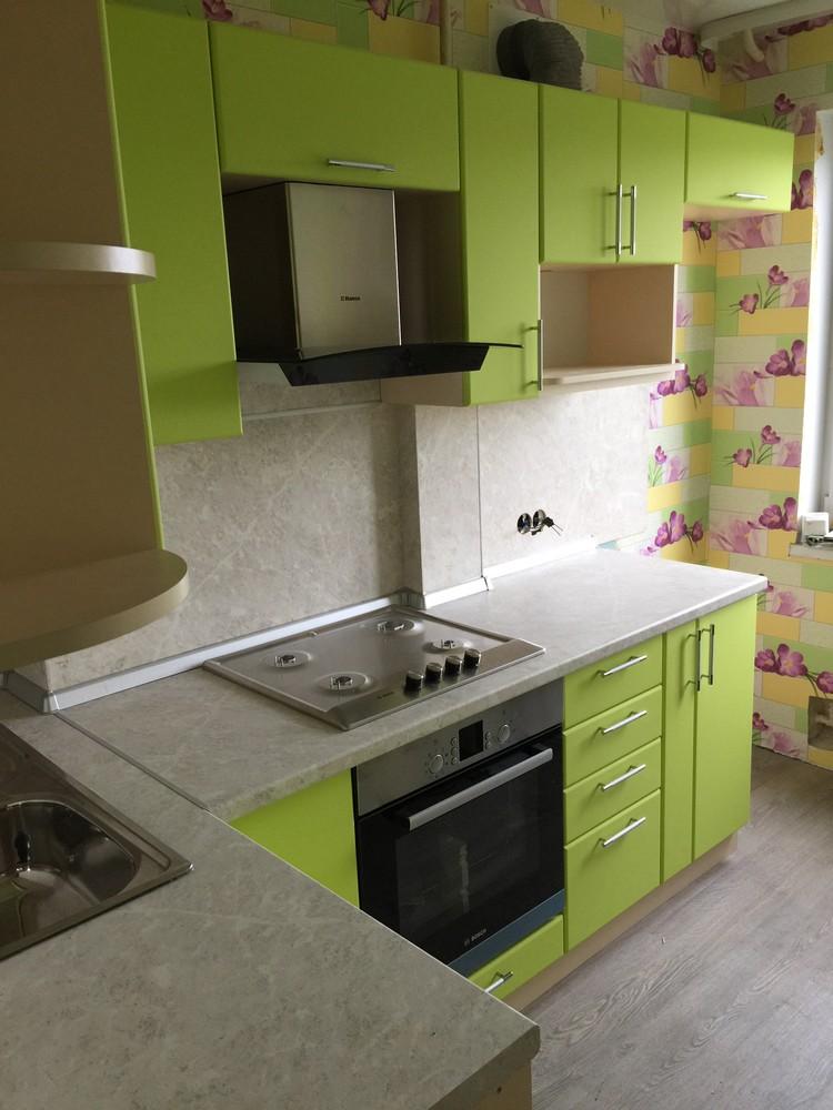 Встроенная кухня-Кухня МДФ в ПВХ «Модель 360»-фото3