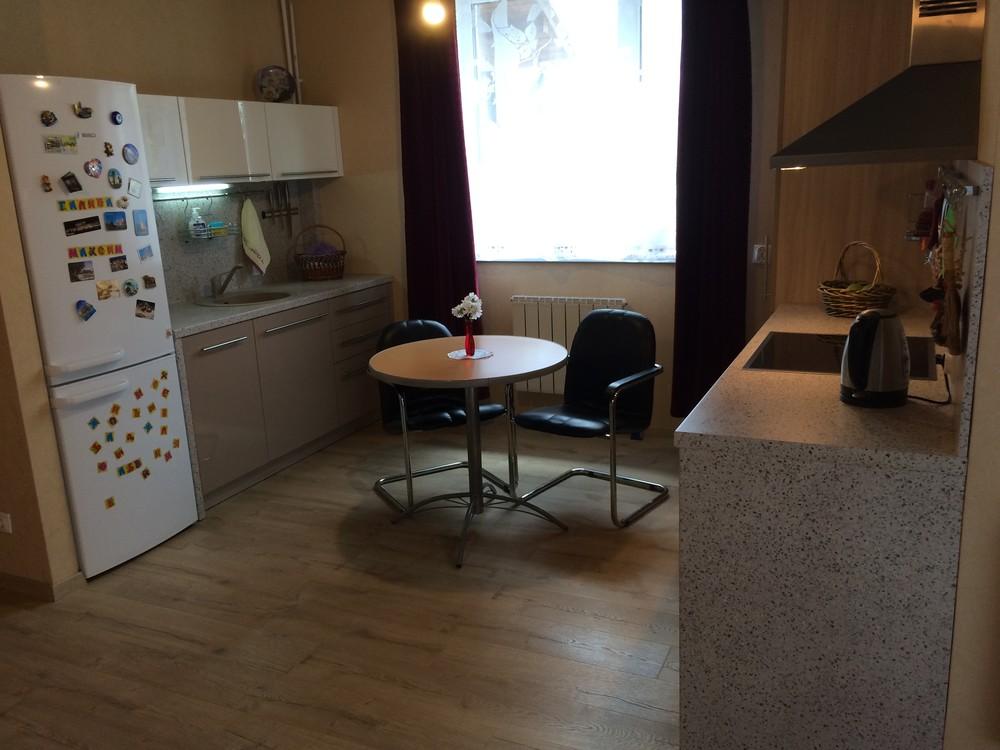 Акриловые кухни-Кухня из пластика «Модель 104»-фото3