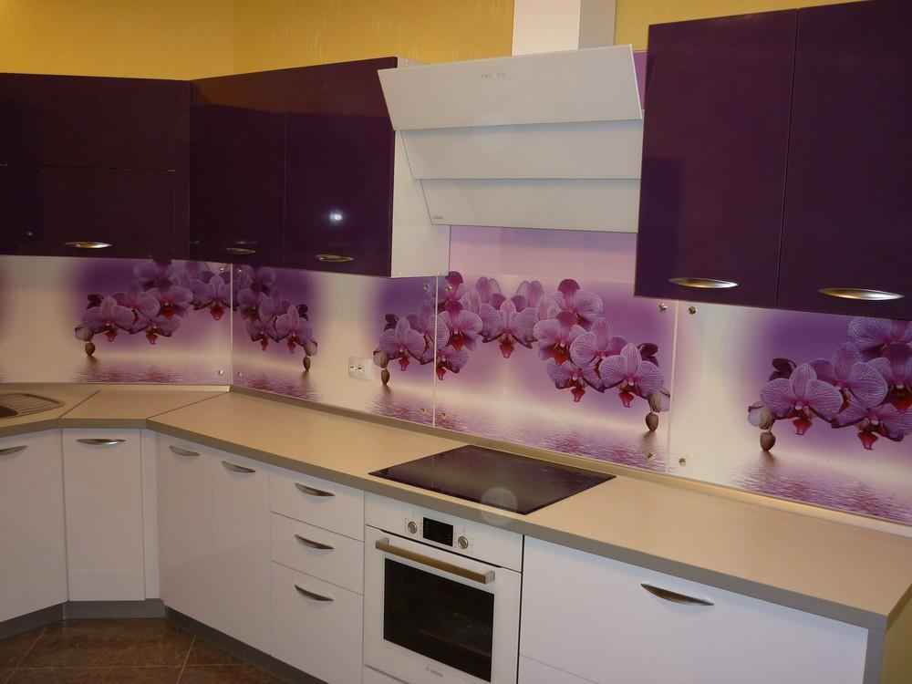 Акриловые кухни-Кухня из пластика «Модель 207»-фото2