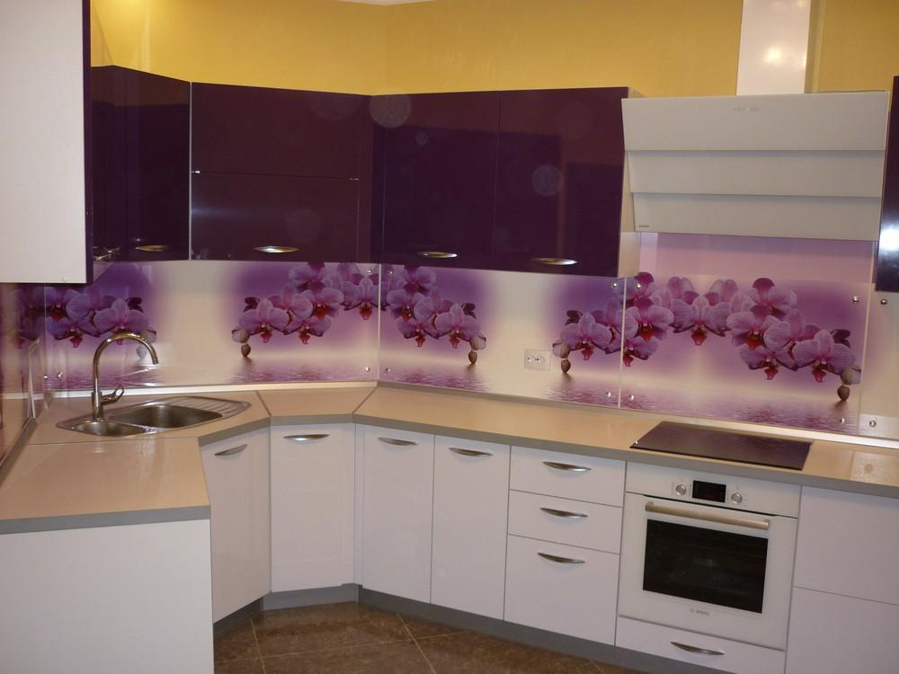Акриловые кухни-Кухня из пластика «Модель 207»-фото5