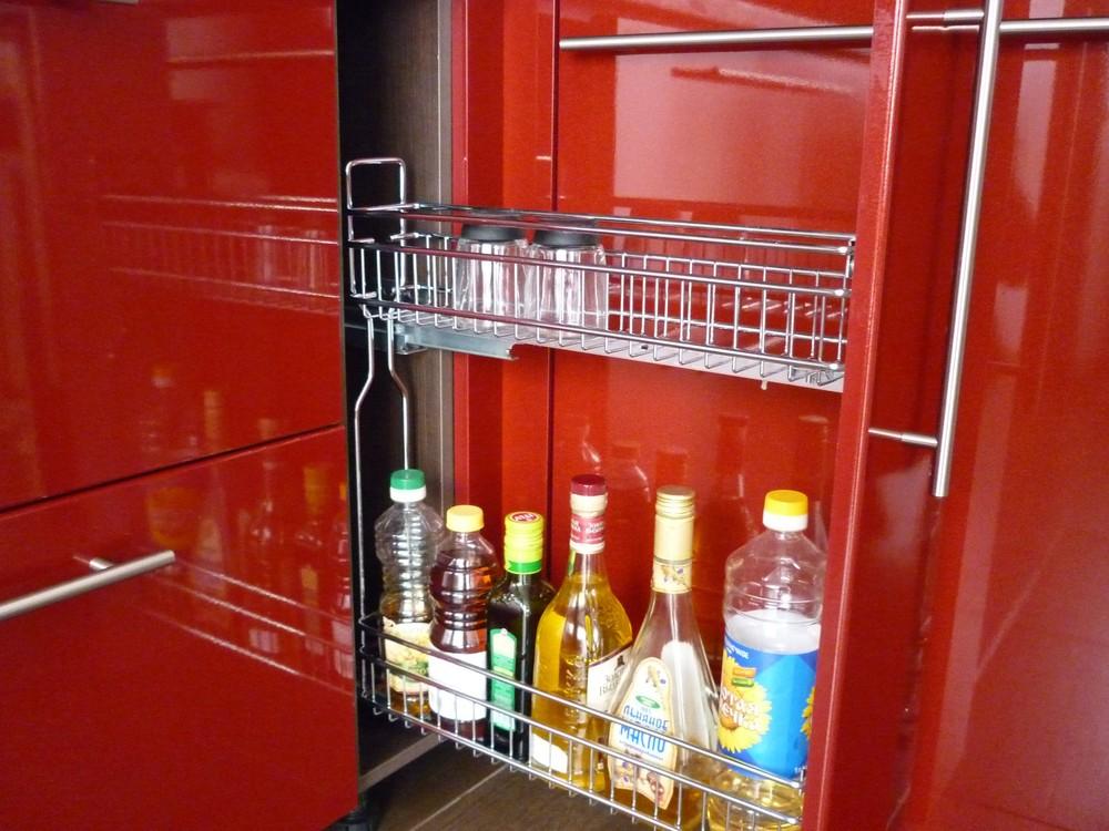 Встроенная кухня-Кухня МДФ в ПВХ «Модель 264»-фото6