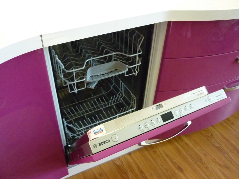 Встроенная кухня-Кухня МДФ в эмали «Модель 237»-фото5
