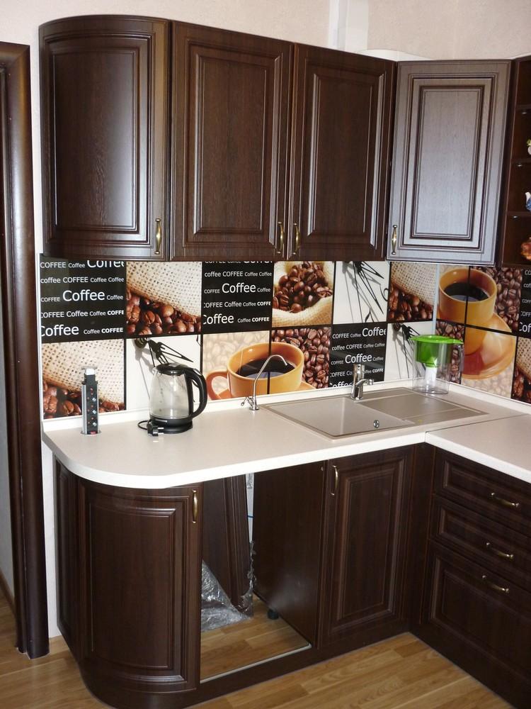 Встроенная кухня-Кухня МДФ в ПВХ «Модель 227»-фото5