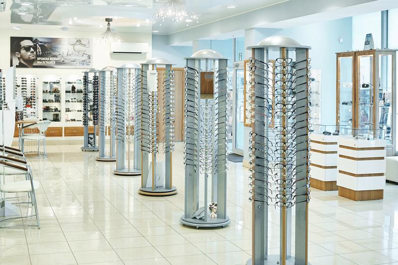 Торговая мебель-Мебель для оптики «Модель 207»-фото1