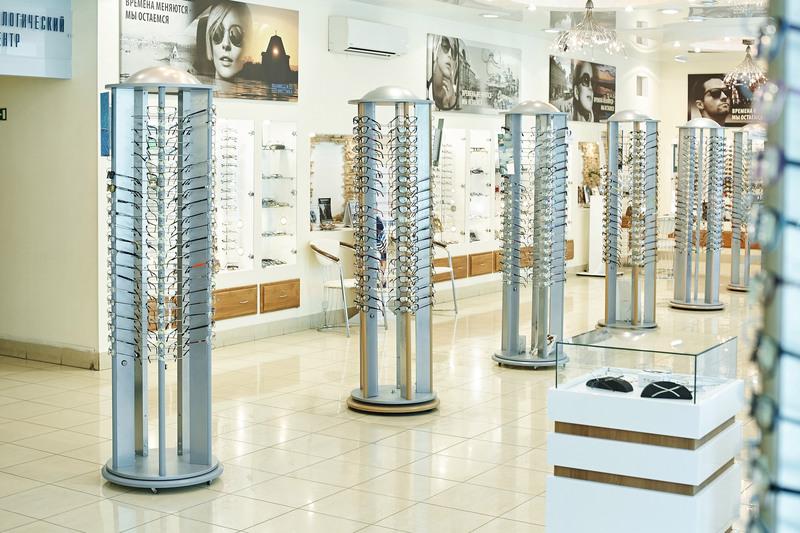 Торговая мебель-Мебель для оптики «Модель 207»-фото2