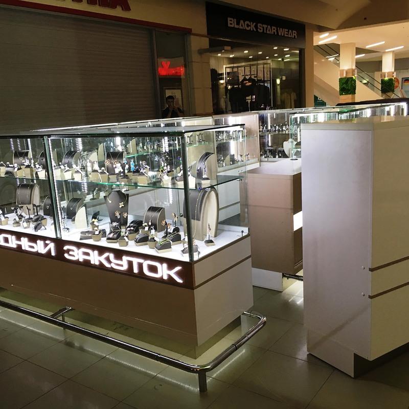 Торговая мебель-Торговый островок «Модель 245»-фото1