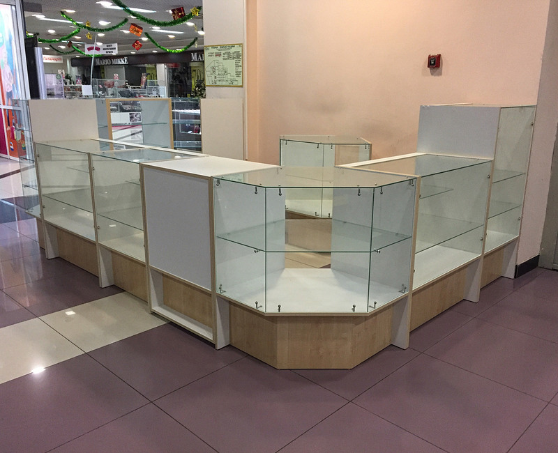 Торговая мебель-Торговый островок «Модель 237»-фото2