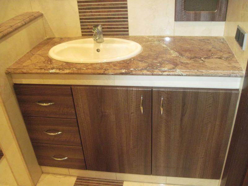 Мебель для ванной комнаты-Мебель для ванной «Модель 80»-фото1