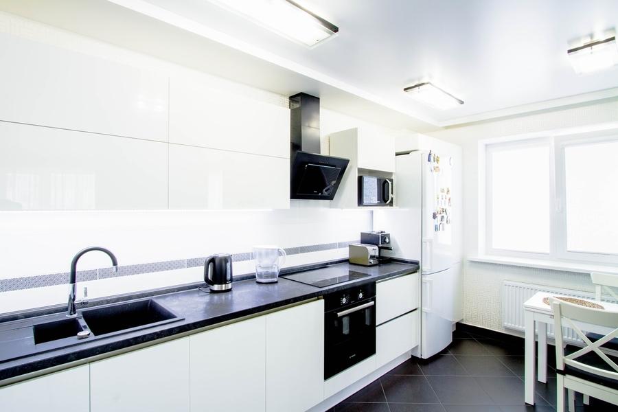 Акриловые кухни-Кухня из акрила «Модель 405»-фото2