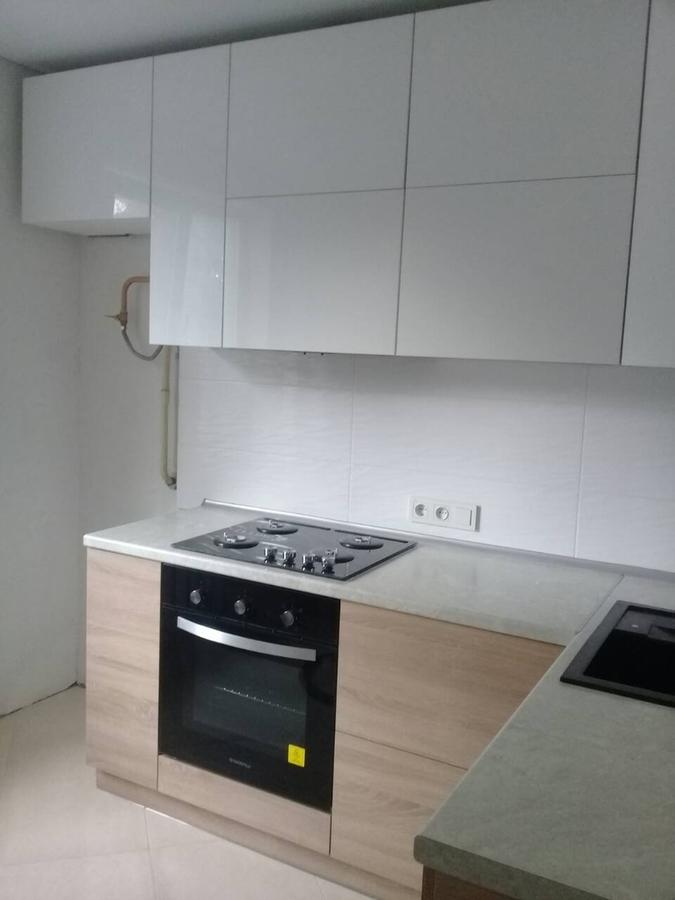 Акриловые кухни-Кухня из акрила «Модель 391»-фото2