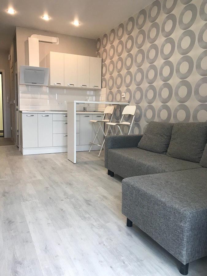 Белый кухонный гарнитур-Кухня из пластика «Модель 466»-фото1