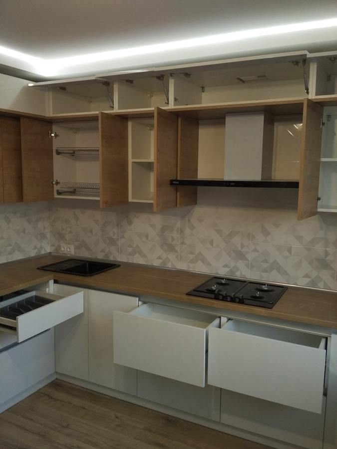 Акриловые кухни-Кухня из ЛДСП «Модель 426»-фото4