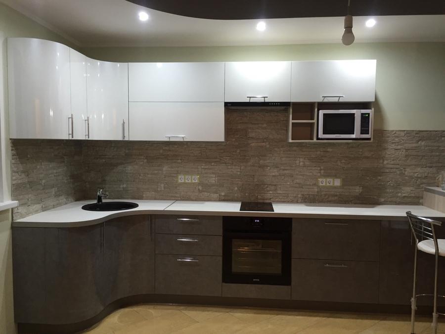 Белый кухонный гарнитур-Кухня «Модель 507»-фото4