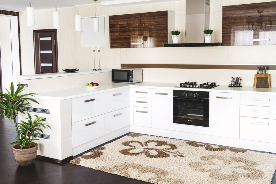 Акриловые кухни-Кухня из акрила «Модель 407»-фото2