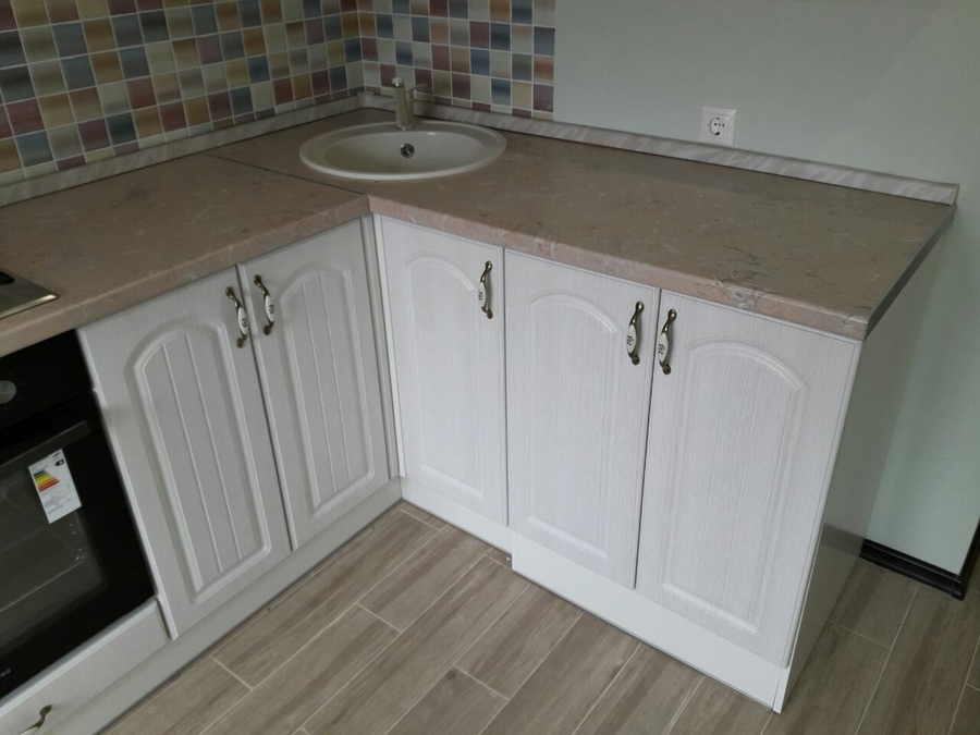 Белый кухонный гарнитур-Кухня «Модель 479»-фото4