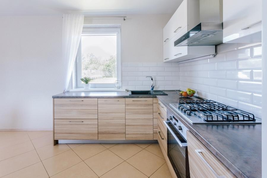 Акриловые кухни-Кухня из акрила «Модель 413»-фото3