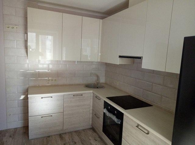 Белый кухонный гарнитур-Кухня из ЛДСП «Модель 400»-фото2