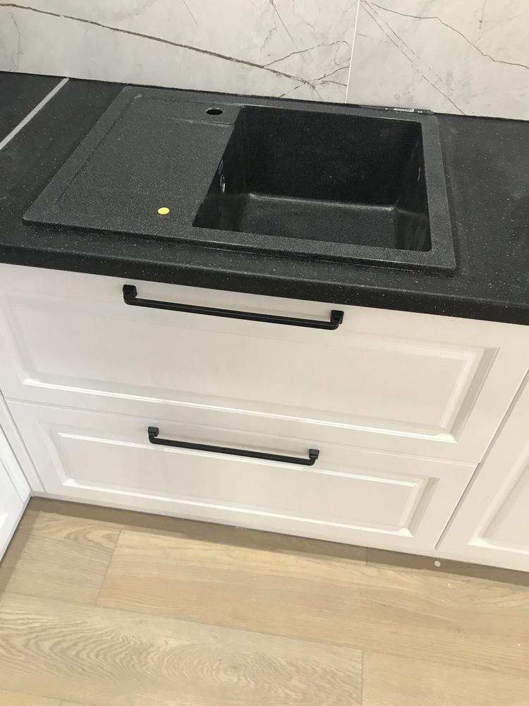 Белый кухонный гарнитур-Кухня МДФ в ПВХ «Модель 553»-фото6