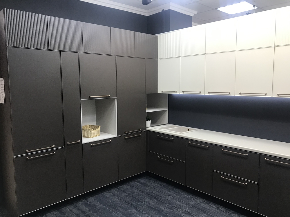 Купить кухню-Кухня МДФ в пластике «Модель 551»-фото2