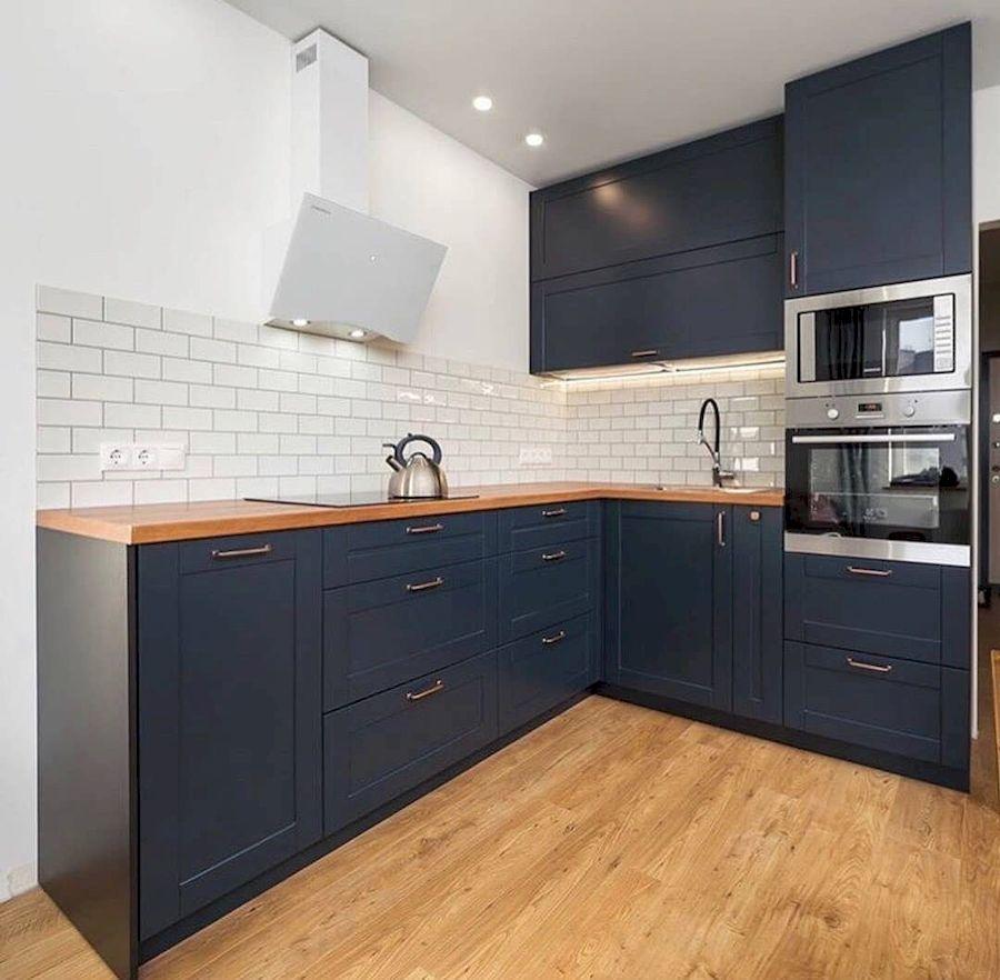 Классические кухни-Кухня МДФ в эмали «Модель 667»-фото1