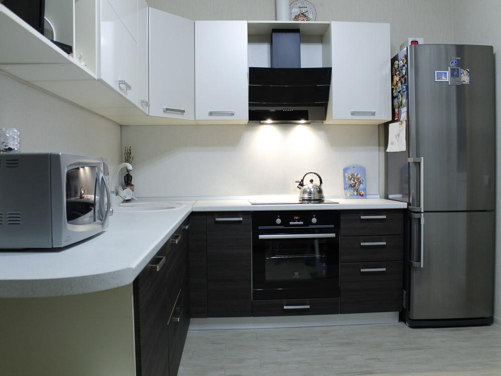 Встроенная кухня-Кухня из ЛДСП «Модель 186»-фото2