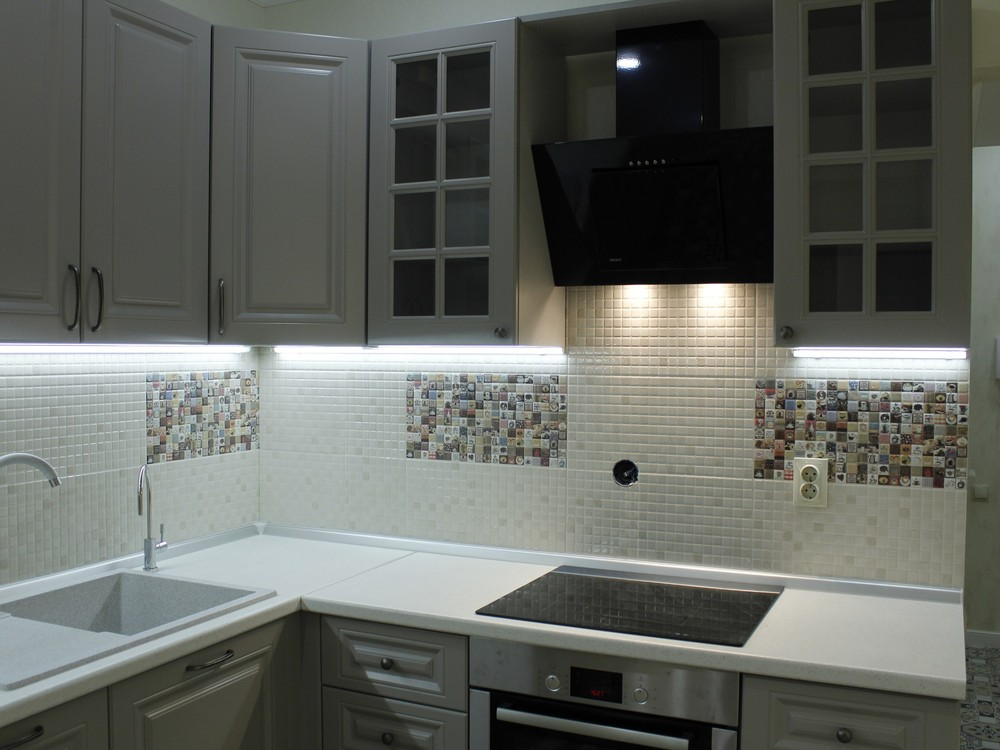 Встроенная кухня-Кухня из массива «Модель 157»-фото3