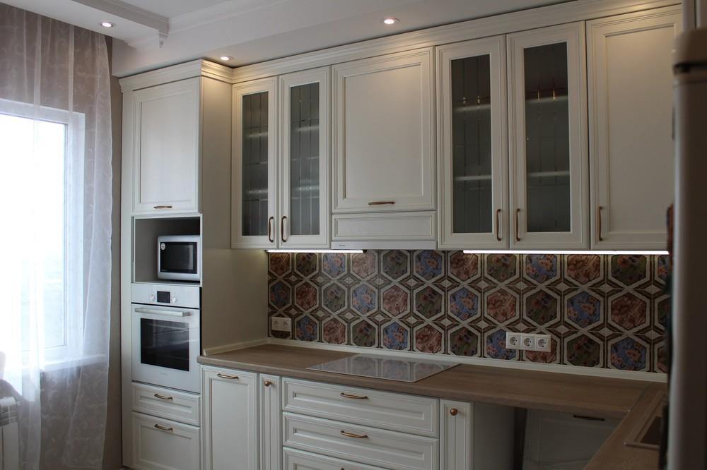 Акриловые кухни-Кухня из пластика «Модель 134»-фото10