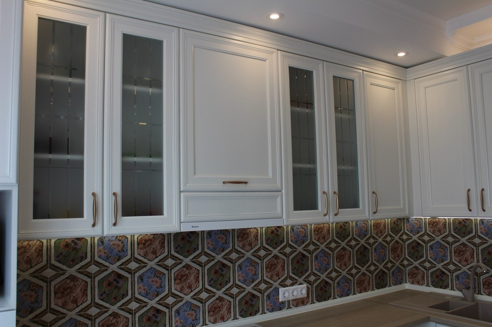 Акриловые кухни-Кухня из пластика «Модель 134»-фото4