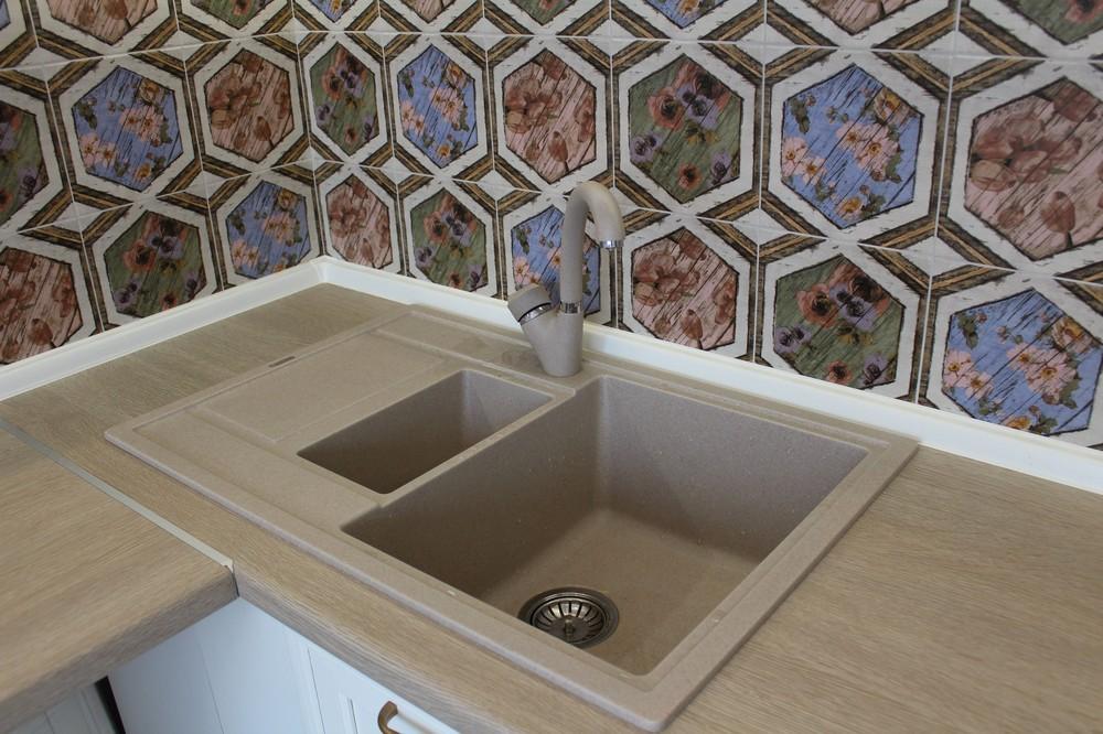 Акриловые кухни-Кухня из пластика «Модель 134»-фото12