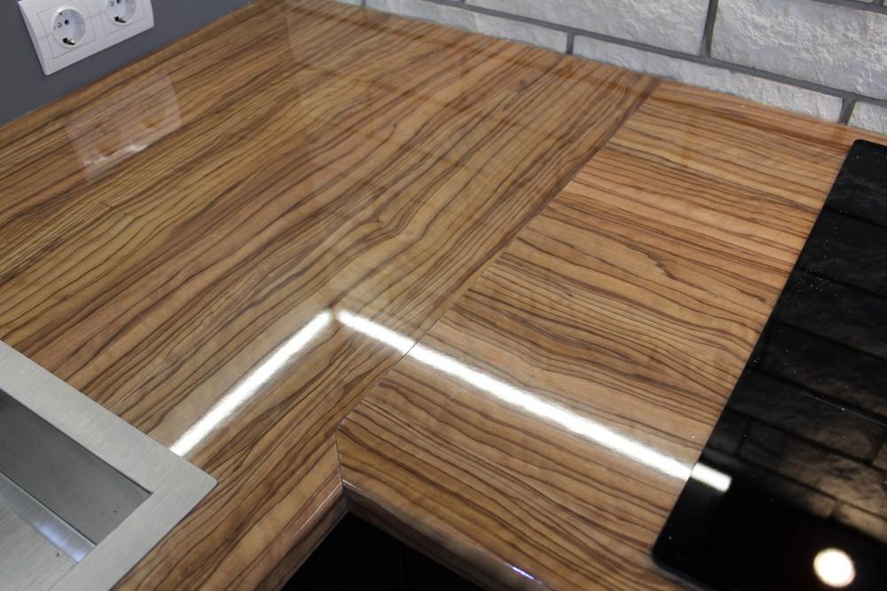 Встроенная кухня-Кухня МДФ в ПВХ «Модель 153»-фото9