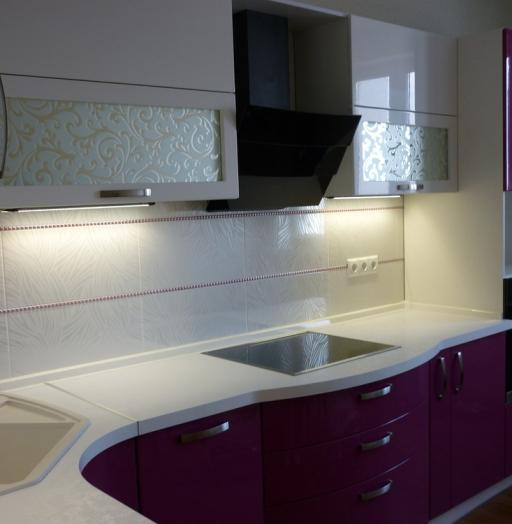 -Кухня МДФ в эмали «Модель 237»-фото29