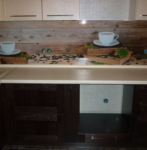Купить кухню-Кухня МДФ в ПВХ «Модель 243»-фото4