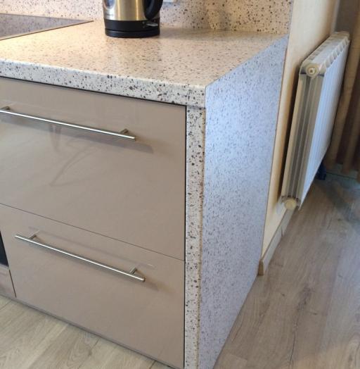 Акриловые кухни-Кухня из пластика «Модель 104»-фото14
