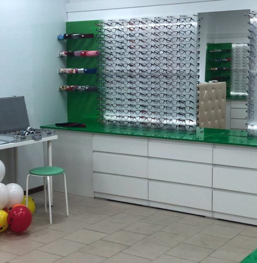 Торговая мебель-Мебель для оптики «Модель 203»-фото4