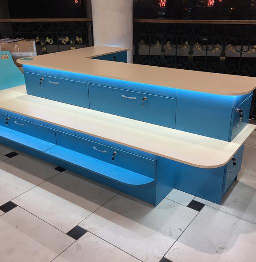 Торговая мебель-Торговый островок «Модель 261»-фото2