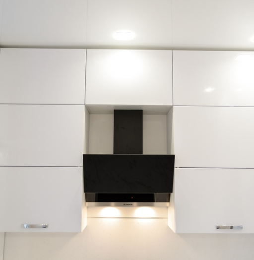 Белый кухонный гарнитур-Кухня из пластика «Модель 142»-фото5