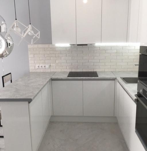 -Кухня МДФ в эмали «Модель 431»-фото17