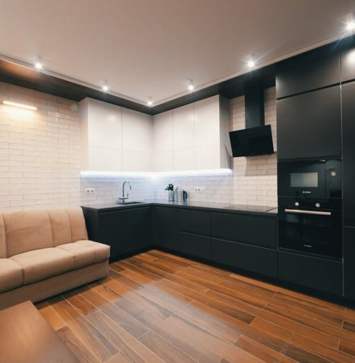Дорогие и элитные кухни-Кухня МДФ в эмали «Модель 463»-фото2