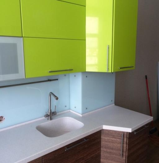 Встроенная кухня-Кухня МДФ в ПВХ «Модель 512»-фото9
