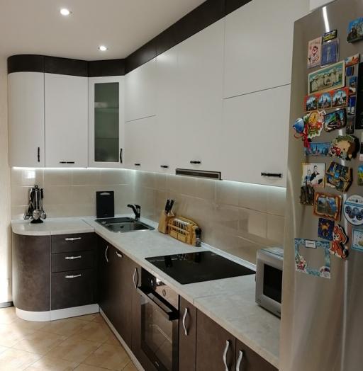 Купить кухню-Кухня МДФ в ПВХ «Модель 27»-фото7